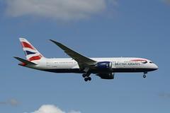 G-ZBJH (IndiaEcho) Tags: gzbjh boeing 7878 british airways ba baw london heathrow lhr egll airport airfield hounslow middlesex england canon eos 1000d airliner civil aircraft aviation aeroplane