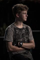 Nathan (MX Man) Tags: boy son teenager one strobe pony strobist fuji xt 2 1 f portrait