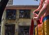 Blessings (soumitra911) Tags: culture mumbai india crowd faith festival festivals parade devotion maharashtra rooftop ganesha national day street raja ganpati lalbaug ganeshotsav lalbaugcharaja soumitra inamdar
