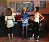 Deja Brew WIP (Elrenia_Greenleaf) Tags: dejabrew 16 sixthscale playscale sixthscalecoffeeshop dolldiorama dollroom diorama barbie barbiediorama barbieroom