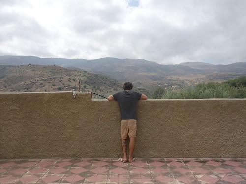 La vue sur le toit de la maison de Mohamed