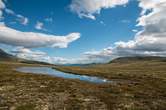 This is water (Raphs) Tags: norge norway alvdalvestfjell hedmark mountains highland landscape wide view sky blue clouds sunlight lake barren raphs canoneos70d canonefs1585mmf3556isusm scenery fv5