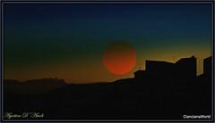 Tramonto... virtuale. - Settembre-2017 (agostinodascoli) Tags: tramonto landscape sole cianciana sicilia nikon nikkor paesaggio photoshop art digitalart agostinodascoli texture nature