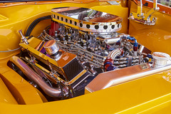 smooth orange (expo photography) Tags: show car v8 engine bay detailed restored sony a550 1855mm