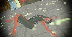 16 ♥ (SoliCaproni) Tags: tags blackrose the artists palette sunset mist lw poses hair lelutka simone maitreya