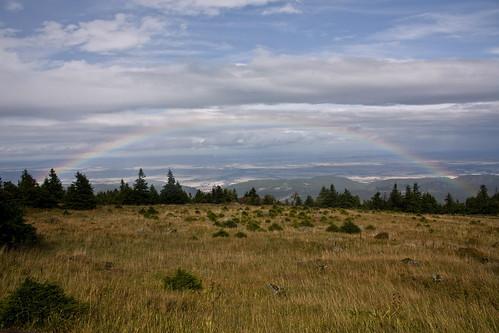 Rainbow over the Harz