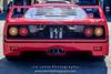 Red-Ferrari-F40-sports-car-in-sydney-by-la-lente-photography-rear (Paul D'Ambra - Australia) Tags: car red ferrari sportscar redsportscar redferrari vehicle motorvehicle redf40