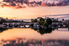 (LuxFactory) Tags: seine paris paysage landscape couleur color sunset leverdesoleil