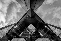 No.1 London Bridge (Daniel Coyle) Tags: no1londonbridge onelondonbridge london architecture building nikon d7100 nikond7100 danielcoyle uk england blackandwhite bw reflections londonbridge