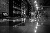Barlight Reflections (tim.perdue) Tags: barlight reflections bar strongwater food spirits event space venue party 400 west rich franklinton columbus ohio black white bw monochrome night darklights reflection brick wall polished countertop alcohol bottles liquor