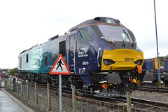 Direct Rail Services 88010 Aurora (Will Swain) Tags: carlisle kingmoor depot open day 22nd july 2017 drs north west train trains rail railway railways transport travel uk britain vehicle vehicles country england english cumbria direct services 88010 aurora class 88 010