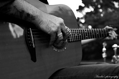 The Blue Butter Pot (Amalia's Photography) Tags: music guitar blackandwhite black white contrast tatoos nature cool tbbp wings skull concert private photo photoshoot photography photoshop place shooting shoot shadow style shadows
