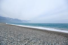 IMG_1463 (Ethene Lin) Tags: 花蓮 七星潭 海 太平洋 海灘 海浪 鵝卵石 雲層