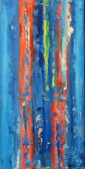 Totem (Peter Wachtmeister) Tags: artinformel modernart artbrut acrylicpaint abstract surrealismus surrealism phantastic popart hanspeterwachtmeister