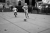 Streets of Paris (michael.mu) Tags: paris leica m240 35mm leicasummicronm1235mmasph leicasummicron35mmf20asph france soccer football play outdoor sport streetphotography bw blackandwhite silverefexpro
