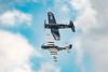 DSC_6211 (CEGPhotography) Tags: 2017 andrewsairforcebase andrewsairshow airshow aviation flight jimtobul corsair f4u4corsair koreanwarhero wwii fighter demoteam classof45 scooteryoak scooter mustang p51 p51mustang
