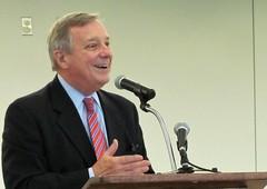 Dick Durbin (illinoispublicradio) Tags: dickdurbin senator durbin rockfordairport