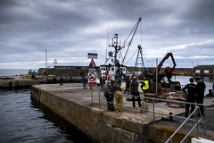 ready for action... (1 other people) Tags: macduff scotland unitedkingdom gb