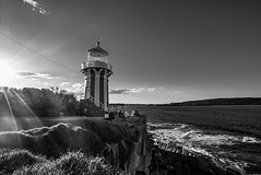 DSC00774 (Damir Govorcin Photography) Tags: blackwhite water watsons bay sydney natural light wide angle zeiss 1635mm sony a7rii golden hour sunset