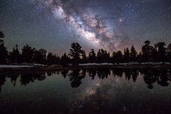 Chaotic Neutral Alignment (The Charliecam) Tags: stars milkyway cottonwood lake california eastern sierranevada reflection nightsky nightscape nightphotography inyonationalforest peace camping hiking astrophotography canon6d tamron1530mm stacking