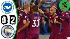 Brighton vs Manchester City 0-2 - Highlights & Goals - 12 August 2017 (FOOTBALL SPOTLIGHT) Tags: brighton vs manchester city 02 highlights goals 12 august 2017