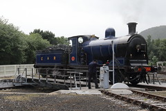 828 Strathspey Railway, Scotland (Paul Emma) Tags: uk scotland aveimore strathspeyrailway railway preservedrailway railroad 828 steamtrain train turntable
