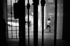 A running child (stefankamert) Tags: stefankamert child running framed blackandwhite blackwhite noir noiretblanc bw baw bnw sony rx1 rx1r sonyrx1r fullframe mirrorless blurry blurred
