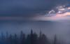 Misty morning on the Mogielica (Dariusz Wieclawski) Tags: morning mistymorning fog mist sunrise sundawn dawn sun sky nikon nikond700 2470mm28 d7002470mmf28 rain lee leefilters leegrad clouds mountainsclouds morningrain mountains