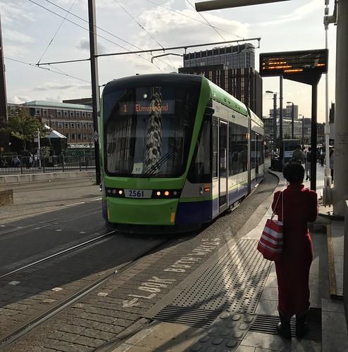 Croydon Tram 2561 at Croydon East Station