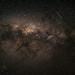 Meteor across the Milky Way