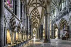 Lincoln Cathedral 18 (Darwinsgift) Tags: lincoln cathederal lincolnshire nikkor 19mm f4 pc e tilt shift tiltshift hdr photomatix pro 6 nikon d810 church interior cathedral
