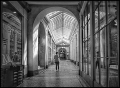 Galerie Vivienne * Paris (sistereden2) Tags: leicaq passage paris