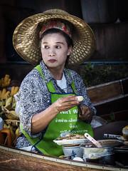 (ferinho) Tags: floatingmarket thailand olympus