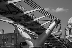London in Black and White (norm.edwards) Tags: architecture london blackandwhite details engineering precise design detailing hot contrast oldvnew new against old stunning great city environment wicked love me culture cultural evolve cityscape river banking grey white black clear
