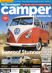 VW Camper & Commercial Issue 119 Cover (Eric Arnold Photography) Tags: vw volkswagen feature cover shoot photoshoot camper commercial magazine bus van transporter kombi deluxe 65 1965 az arizona superstitionmountains apachejunction