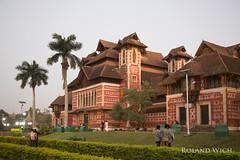 Thiruvananthapuram - Kanakakunnu Palace (Rolandito.) Tags: thiruvananthapuram trivandrum kanakakunnu palace india kerala