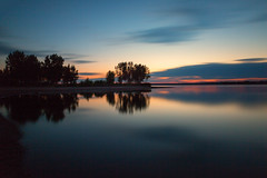 First Light (mclcbooks) Tags: sunrise dawn morning sky clouds lake landscape chatfieldstatepark denver colorado lakechatfield summer le longexposure