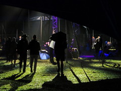 Silhouettes in the Siam Tent (Andy Worthington) Tags: womad womad2017 womadfestival festivals music musicfestivals worldmusic wiltshire charltonpark andyworthington siamtent tents