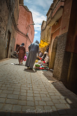 Moroccan Trades (gseglenieks) Tags: morocco marrakesh marrakech explore adventure travel wanderlust shop shopping buy sell exchange streetphotography streetphoto streetpic people locals nofilter hdr candid business cultural pavement paved path street alley africa african