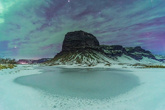 'Otherworld' - Lómagnúpur, Iceland (Kristofer Williams) Tags: night sky stars mountain ice snow winter aurora cloud northernlights arctic nightscape landscape lomagnupur iceland southiceland
