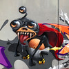 Nibbler (ViewOne) Tags: view character graffiti basel etc 213 monster futurama nibbler