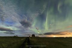 Vatnsleysa. (Kjartan Guðmundur) Tags: iceland ísland auroraborealis northernlights norðurljós nightscape nocturne ngc house stars sky moonlight canoneos5dmarkiv tokinaatx1628mmf28profx kjartanguðmundur