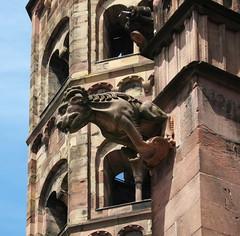 Freiburger Münster: Wasserspeier (fotonordhessen) Tags: freiburgbreisgau wasserspeier kirche gargoyle