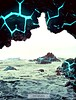 Teal Lava Rocks (Murciless) Tags: landscape scenery sea places feedback lava water cave rocks destinations discover destinationunknown critiqueme photomanipulation lavarocks scenic explore travel