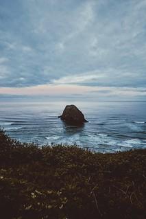 morning on the oregon coast