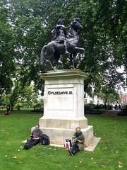 Statue of William III (brimidooley) Tags: williamiii king statue ロンドン london england uk 런던