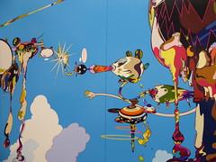 Chicago, Museum of Contemporary Art (MCA), Takashi Murakami Exhibit, The Octopus Eats Its Own Leg, Surreal Vision (Mary Warren (8.8+ million views)) Tags: chicago museumofcontemporaryart mca surrealism abstract art painting takashimurakami colorful