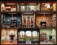 Inside the doll's house (Tim Ravenscroft) Tags: dollshouse antique mfa boston doll house hasselblad hasselbladx1d x1d