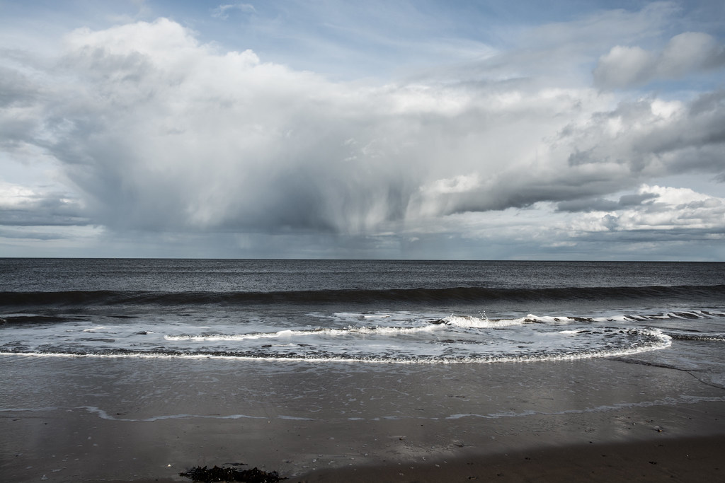 Rain at Sea, Whitley Bay