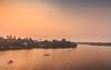 Homeward Bound (sibingpeter) Tags: water vacation tbd landscape bridge kerala india unprocessed todo sunset boat kollam scenery road pending
